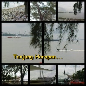 Suasana di Tanjung Harapan